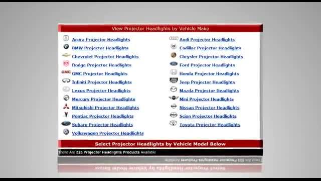 Projector Headlights - Slickcar.com