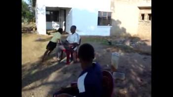 activiteiten met kids van Phumula