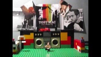LEGO MUSIC VIDEO- BURN FOR YOU/ TOBYMAC