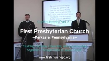 Sunday Worship Svc. 1/16/2011. Part 1.