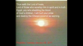 Prophecy Tuesday,January 04, 2011