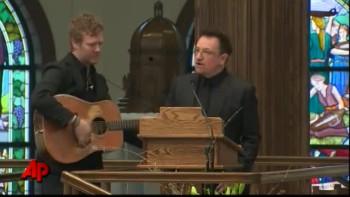 Bono Sings a Hymn