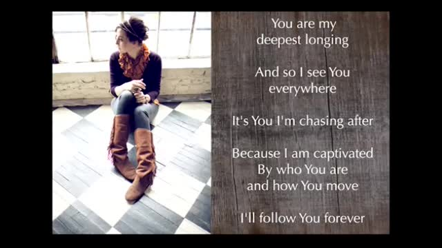 Audrey Assad - For Love Of You (Slideshow With Lyrics)