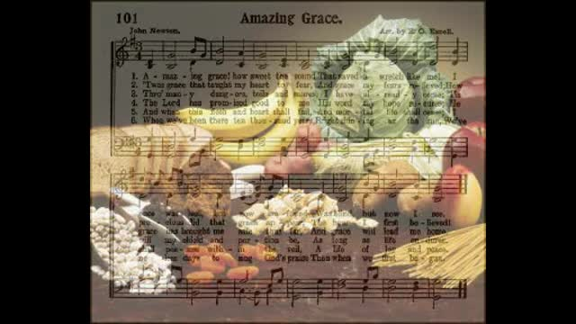 Amazing Grace - Green Wood