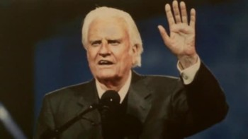 Billy Graham Gives an Invitation
