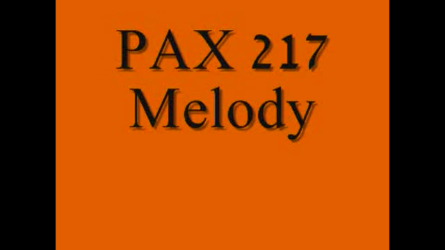 PAX217 Melody