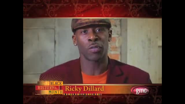 gmc's Black History Month - Ricky Dillard