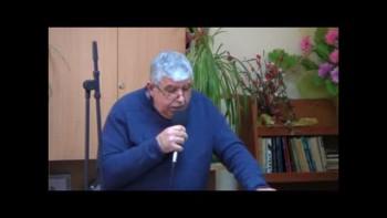 Пастор  Фахри Тахиров - Не се безпокойте за живота си , но търсете Божието Царство