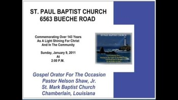 2011 Church Commemoration-Musical Excerpts