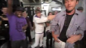 Justin Bieber Behind The Scenes With Family: Never Say Never