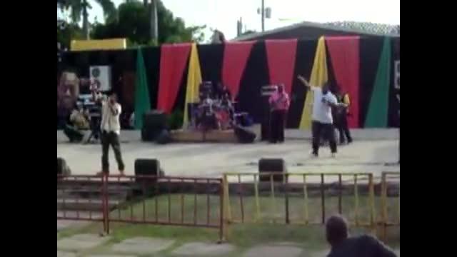 Blu I Steppa+Tin I Cool performs at Genesis Gospel Festival