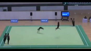 Beautiful Japanese Syncronized Gymnastics