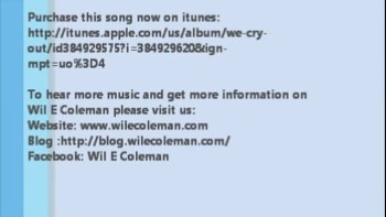We Cry Out - Wil E. Coleman