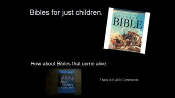 So you know your Bible?