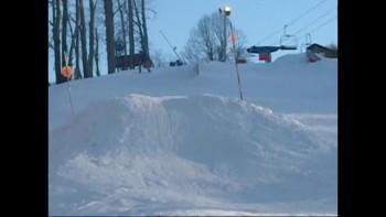 cool ski jump