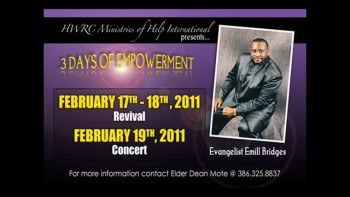"Emill Bridges - ""Get Your Praise On""  Revival 2011"
