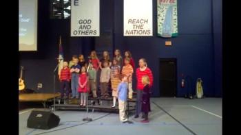 HBC Children's Choir Awesome God