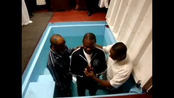 Brother Malcolm's Baptism