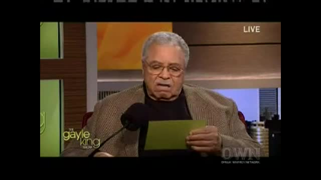 "James Earl Jones reading ""Baby, Baby, Baby"" by Justin Bieber"