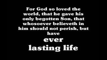 John 3:16 Diagram