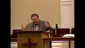 """Bring the Rain - Christ on the Cross"" 1-30-2011 - Sun AM Preaching  - Community Bible Baptist Church 1of2"