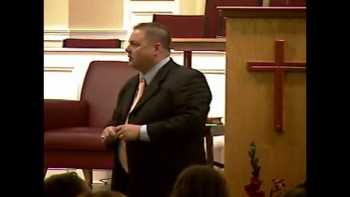 Galatians 1:6-9 - Sun PM Preaching - 1-30-2011  -Community Bible Baptist Church 2of2