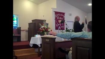 Pastor Dan Oravetz