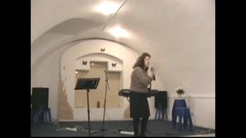 13/02/2011 Часть 1/2 Воскресная проповедь. Миссионер Наталья Склала