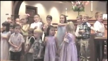 Hysterical Kid's Choir Performance