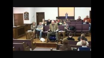 2 Corinthians Chapter 1 February 20, 2011