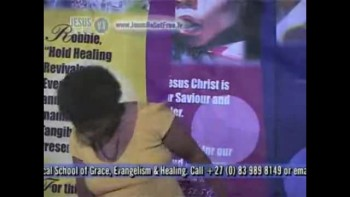 24_Miracle healing & Testimonies (Set free from crutch & touched by the Holy Spirit & healed of shortbreath & leg pains) with Dr Robbie Cairncross