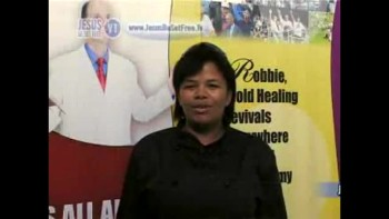 25_Testimonies (Healed of body pains & touched by the Holy Spirit with Dr Robbie Cairncross)