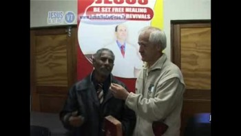 27_Testimonies (Healed of flu & healed of prostate) with Dr Robbie Cairncross