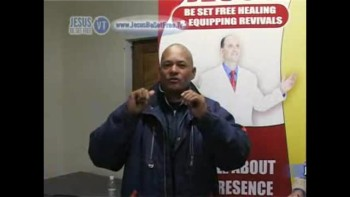 28_Testimonies (Healed in spinal cord & healed of arm pain) with Dr Robbie Cairncross