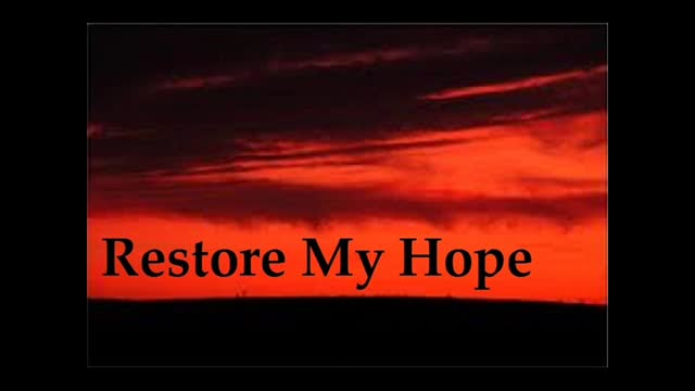 Richard Maye - Restore My Hope