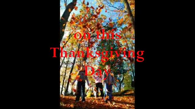Eric Tagg - Thanksgiving Day