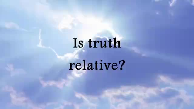 Is truth relative?