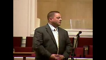 """Spirit in Control - A Picture in Power"" - Sun AM Preaching - 2-20-2011 - Community Bible Baptist Church"