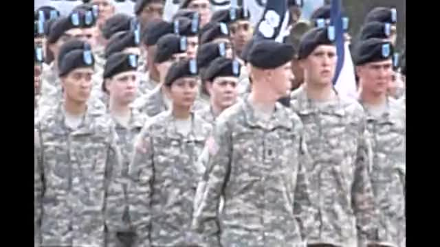 Army Basic Traing Graduation
