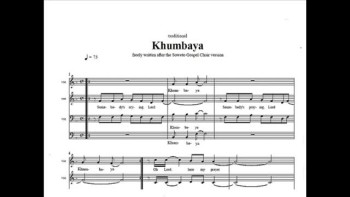 Khumbaya (midi of Soweto Gospel Choir-version)