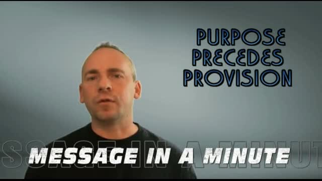 Message in a Minute - Nehemiah part 1