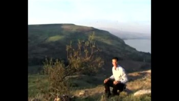 Matthew 5, filmed above the Sea of Galilee, Israel (Tom Meyer)