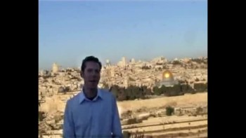 Matthew 25, filmed on the Mount of Olives across from Jerusalem, Israel (Tom Meyer)