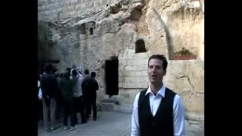 Revelation 3, filmed at Gordon's Calvery in Jerusalem, Israel (Tom Meyer)