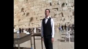 Revelation 7, filmed at the Western Wall in the Old City of Jerusalem, Israel (Tom Meyer)