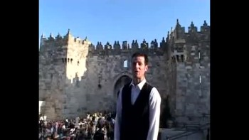 Revelation 8, filmed outside the Old City of Jerusalem, Israel (Tom Meyer)