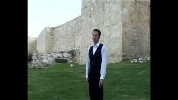 Revelation 10, filmed outside the Old City of Jerusalem, Israel (Tom Meyer)