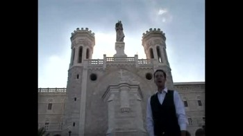 Revelation 12, filmed outside the Old City of Jerusalem, Israel (Tom Meyer)