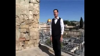 Revelation 13, filmed in the Old City of Jerusalem, Israel (Tom Meyer)