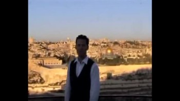 Revelation 14, filmed on the Mount of Olives across from Jerusalem, Israel (Tom Meyer)